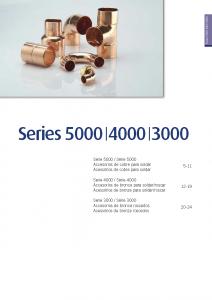 Páginas desdeSeries 5000 _ 4000 _ 3000. Accesorios de Cobre y Bronce